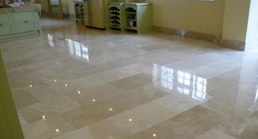 Cristallizzazione pavimenti in marmo Albavilla
